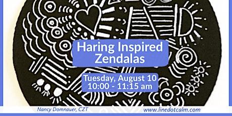 Zentangle® Haring Inspired Zendalas®Class tickets