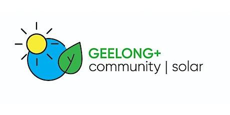 Geelong+ Community Solar Program - Webinar tickets