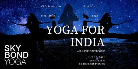 Yoga for India tickets