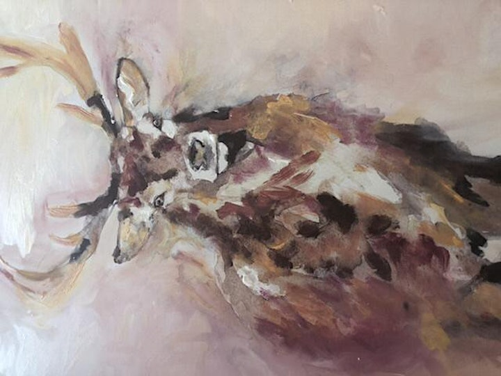 """"""" Rose and Renoir """" -Avoca  stag- SPECIAL for 2 and 4 adults image"""