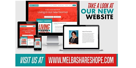 Melba K. Haggins 'Living In Our New Normal' Book Launch Party tickets