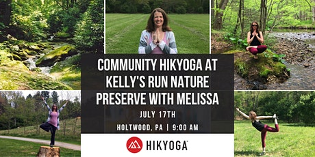 Free Community Hikyoga at Kelly's Run Nature Preserve with Melissa tickets