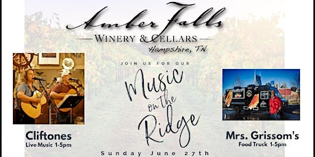 Music on the Ridge featuring Cliftones tickets