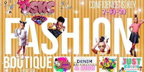 CONFIDENCE IS KEY BOUTIQUE SHOWCASE tickets