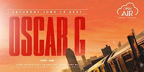 Oscar G @ Open Air Brooklyn tickets