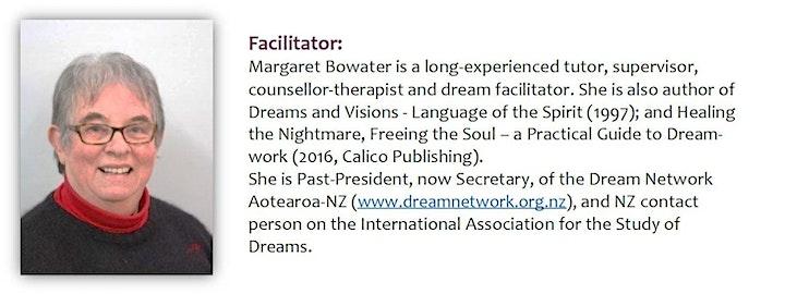 Introduction to Dreamwork Whangarei Fri 2 July 6-9pm & Sat 3 July 9.30-4pm image