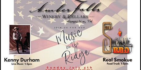 Music on the Ridge featuring Kenny Durham tickets