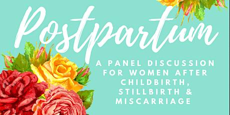 Postpartum: Childbirth, Stillbirth, Miscarriage tickets