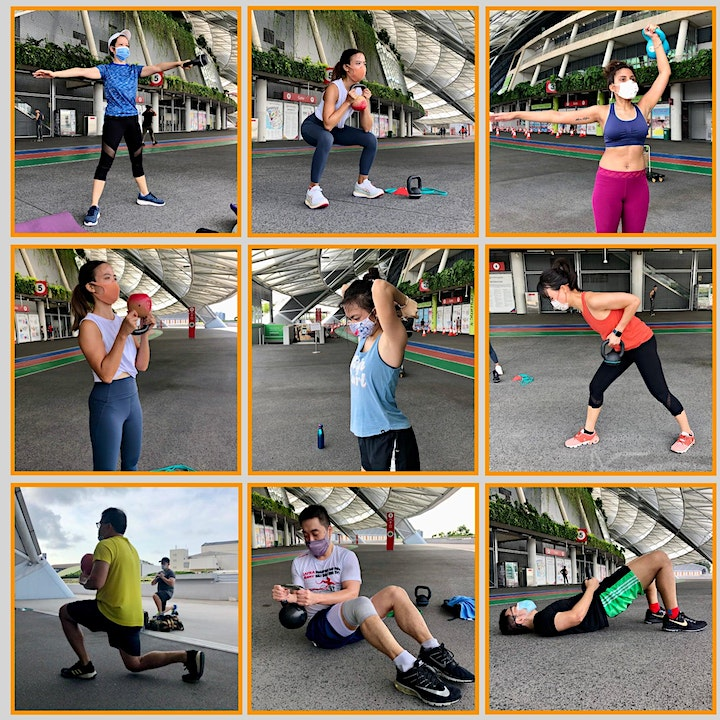 Fri 8.30am - Functional Fitness with Kettlebells-Outdoor ActiveSG approved image