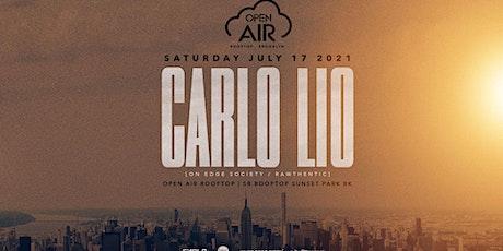 Carlo Lio @ Open Air Brooklyn tickets