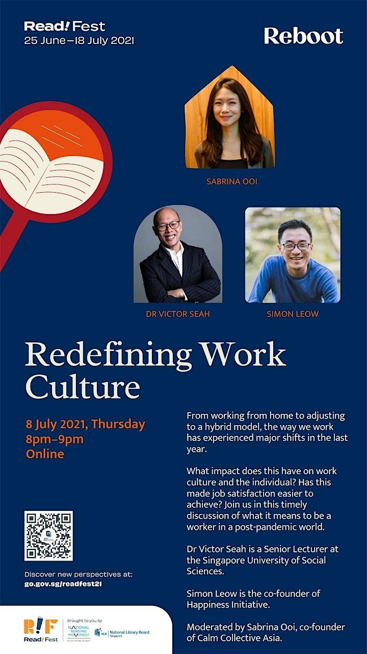 Redefining Work Culture | Read! Fest image