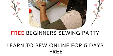 Free online sewing event for beginners tickets