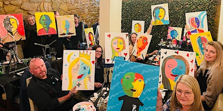 Paint and Sip - Paint Your Partner The Picasso Way tickets