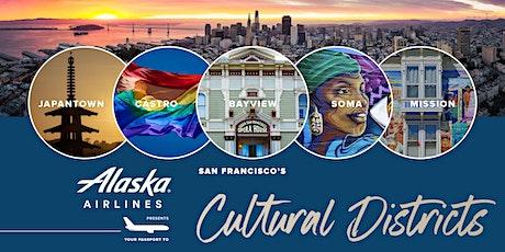 Alaska Airlines: San Francisco's Cultural Districts tickets