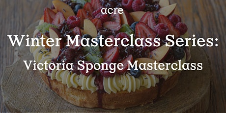 Victoria Sponge Masterclass tickets