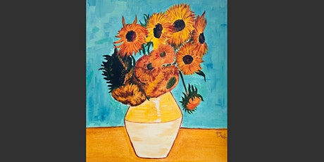 Paint and Sip Event - Recreate Van Gogh's Sunflowers tickets