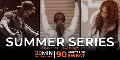 Summer Series | Rush Cycle x Traverse Fitness tickets