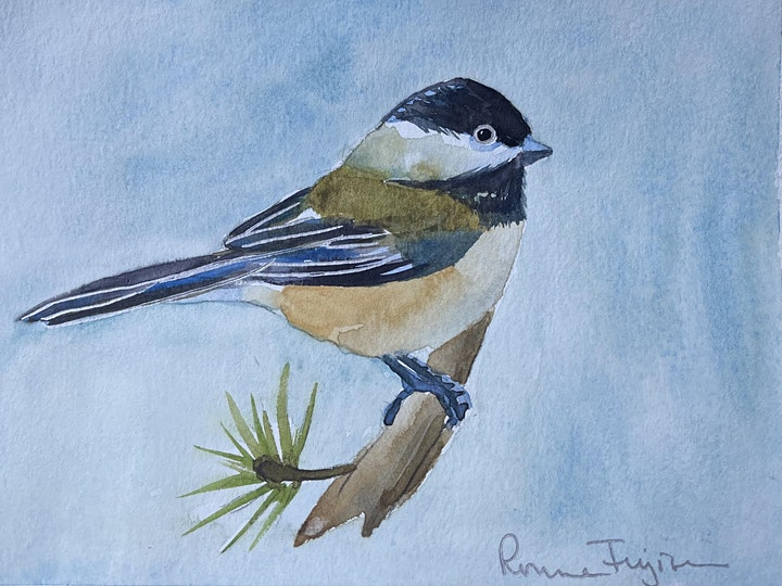 Bird Watercolor Painting for Beginners image