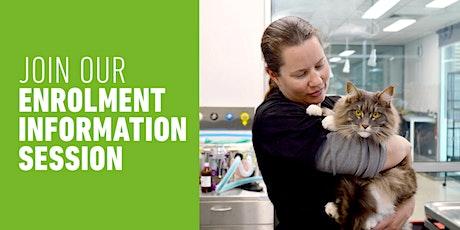 Online - Animal Studies, Vet Nursing Information and Enrolment Session tickets