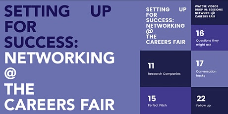 ONLINE - Setting up for Success: Networking @ the Careers Fair tickets