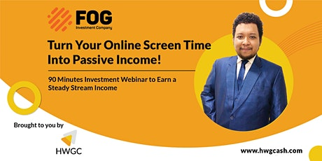 Smart Investment Webinar to Steady Stream Income!! tickets