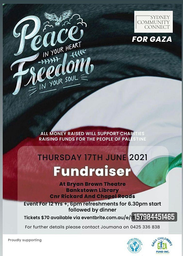 Palestine Fundraiser Event image