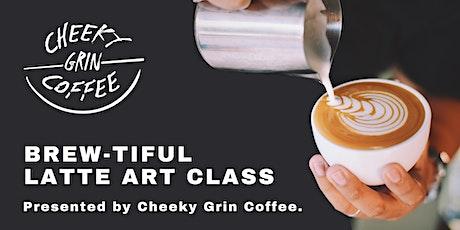Brew-tiful Latte Art Class tickets