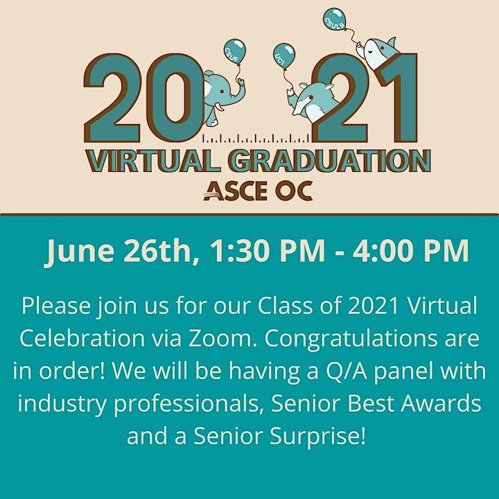 ASCE OC - Class of 2021 Virtual Graduation image