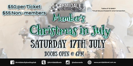 ACBC's Christmas in July Dinner tickets