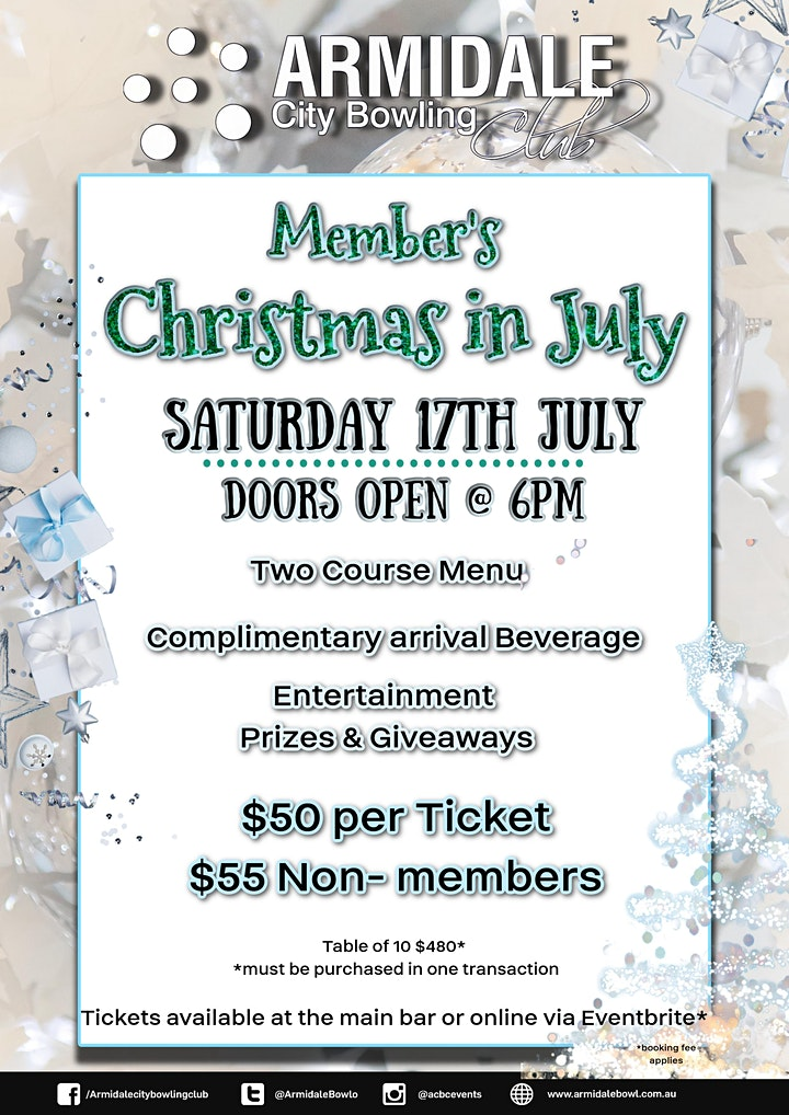 ACBC's Christmas in July Dinner image