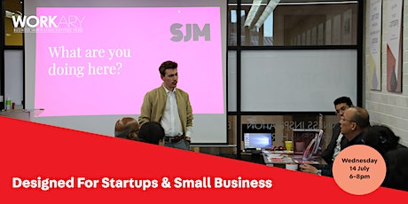 Designed for Startups and Small Businesses tickets
