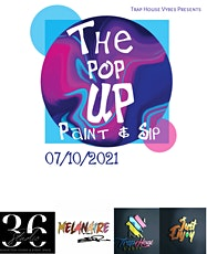 The Paint & Sip Pop Up Shop Edition tickets