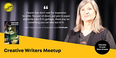 POSTPONED: Creative Writers Meetup and Morning Tea tickets