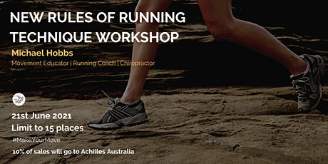 New Rules of Running  Technique Workshop tickets