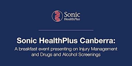 Sonic HealthPlus Canberra Breakfast Event tickets