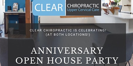 Clear South Anniversary Open House tickets