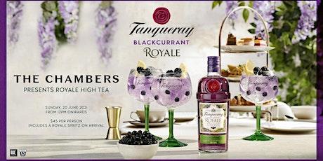 Tanqueray Royale Boozy High Tea tickets