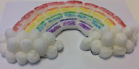Rockdale Library - School Holiday Activity - 3D Rainbow tickets