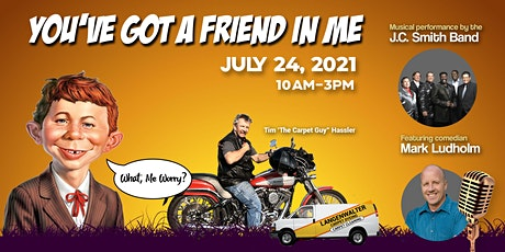You've Got a Friend In Me: A Benefit for Tim Hassler tickets