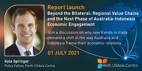 Webinar Report Launch: Beyond the Bilateral - Regional Value Chains tickets
