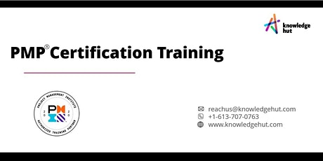 Project Management Professional Certification (PMP®) in Vancouver tickets