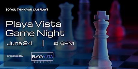 Playa Vista Game Night tickets