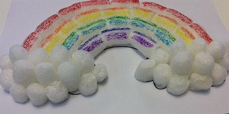 Mascot Library - School Holiday Activity - 3D Rainbow tickets