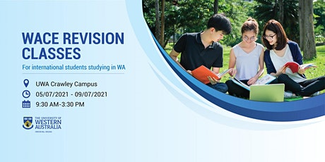 [AUG Perth] WACE Revision Classes for International Students tickets