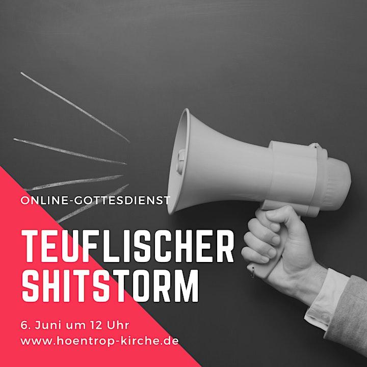 Online-Gottesdienst: Teuflischer Shitstorm: Bild