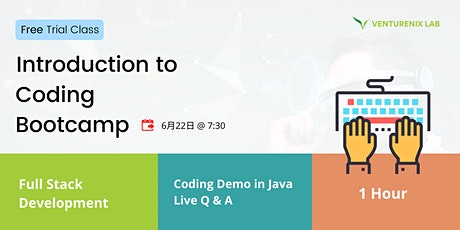 Free Trial Class: Introduction to Coding Bootcamp tickets
