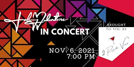 Johnny Valentine in Concert tickets