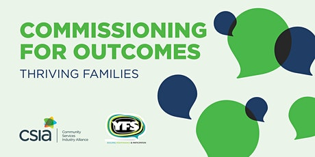 Commissioning for Outcomes: Thriving Families tickets