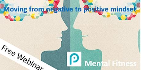 Mental Fitness webinar - 30 minute free webinar tickets