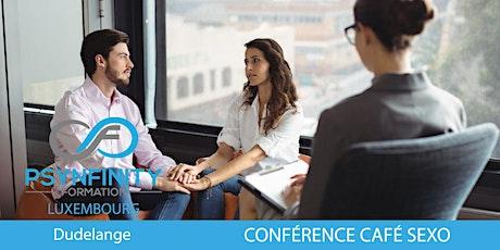 Conférence Café Sexothérapie billets